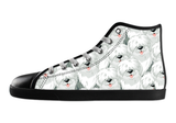 Old English Sheepdog Shoes Women's High Top / 5 / Black, Shoes - spreadlife, SpreadShoes  - 2