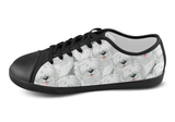 Old English Sheepdog Shoes Women's Low Top / 5 / Black, Shoes - spreadlife, SpreadShoes  - 4