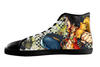 One Piece High Top Shoes