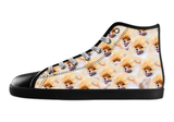 Pomeranian Shoes Women's High Top / 5 / Black, Shoes - spreadlife, SpreadShoes  - 2