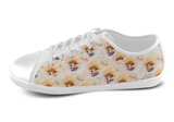 Pomeranian Shoes Women's Low Top / 5 / White, Shoes - spreadlife, SpreadShoes  - 3