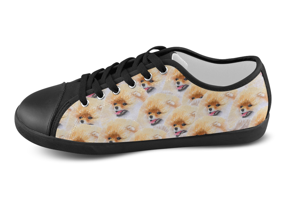 Pomeranian Shoes Women's Low Top / 5 / Black, Shoes - spreadlife, SpreadShoes  - 4