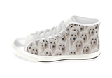 Poodle Shoes Women's High Top / 6 / White, Shoes - spreadlife, SpreadShoes  - 1