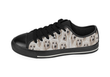 Poodle Shoes Women's Low Top / 6 / Black, Shoes - spreadlife, SpreadShoes  - 4