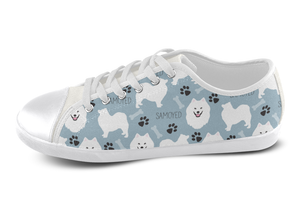 Samoyed Shoes Women's Low Top / 5 / White, Shoes - spreadlife, SpreadShoes  - 3