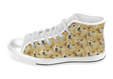 Shiba Inu Shoes Women's High Top / 6 / White Chunky, Shoes - spreadlife, SpreadShoes  - 3