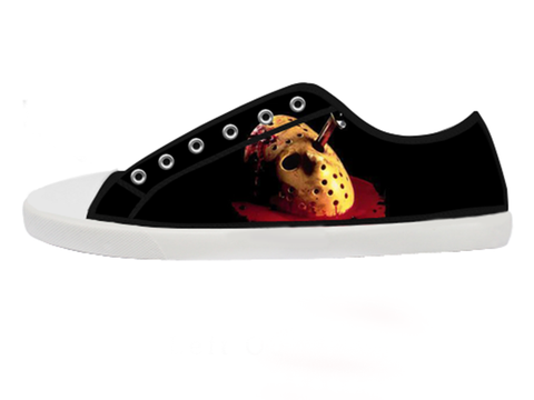 Friday 13th Horror Low Top Shoes