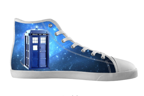 Tardis High Top Shoes , hideme - spreadlife, SpreadShoes  - 2