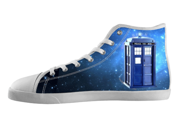 Tardis High Top Shoes , hideme - spreadlife, SpreadShoes  - 1