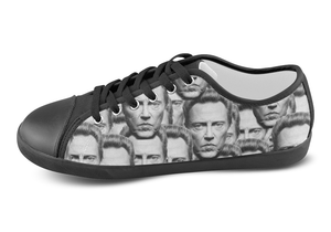Christopher Walken Low Top Shoes Women's / 5 / Black, Low Top Shoes - spreadlife, SpreadShoes  - 3