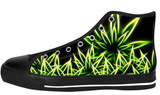 Weed / Marijuana Shoes Women's / 6 / Chunky Black, Shoes - spreadlife, SpreadShoes  - 2