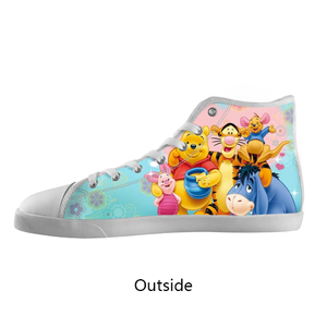 Winnie The Pooh Custom Shoes , hideme - spreadlife, SpreadShoes