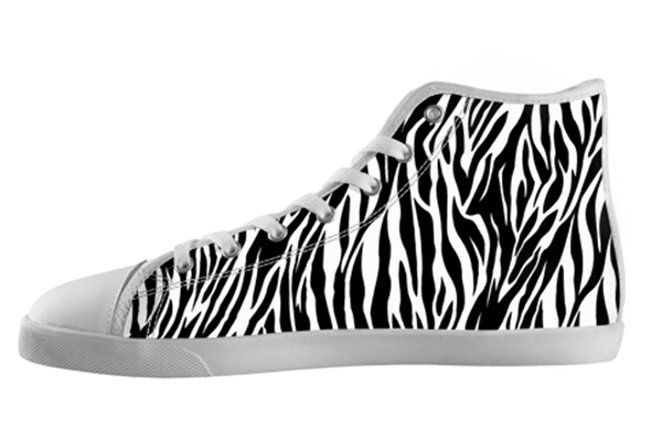 Zebra Shoes Kid's / 1 / White, Shoes - spreadlife, SpreadShoes  - 1