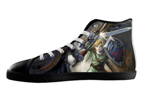 The Legend of Zelda Shoes Men's / 7 / Black, hideme - spreadlife, SpreadShoes  - 1