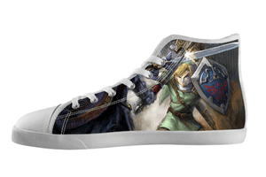The Legend of Zelda Shoes Men's / 7 / White, hideme - spreadlife, SpreadShoes  - 3