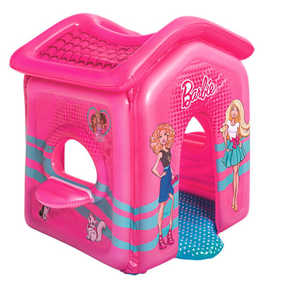 Bestway Barbie Malibu Inflatable Toddler Pink Playhouse