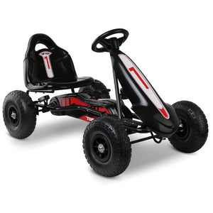 Ayaz Kids Pedal Powered Go Kart - Black