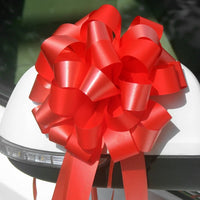 Large gift bow - Red