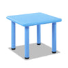 Keezi Kids Table Study Desk Children Furniture Plastic Blue