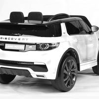12v Licenced Land Rover Discovery - White