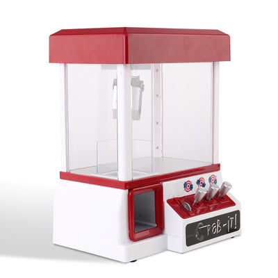 CASS Kids Carnival Claw Machine - Red