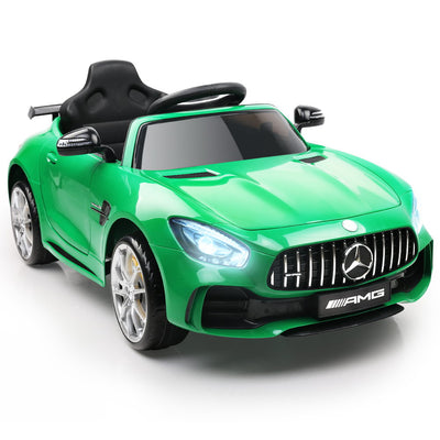 Mercedes AMG GTR Kids Ride On Car - Green