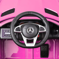 Mercedes AMG GTR Kids Ride On Car - Pink