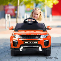 Range Rover Evoque Replica Kids Ride On Car  - Orange
