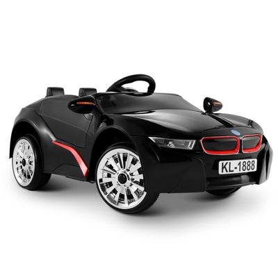 BMW i8 replica Kids Ride On Car  - Black