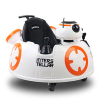 CASS Inteller Kids Ride On Car  - Orange & White