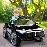 Maserati Style Kids Ride On Car - Black