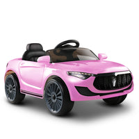 Maserati Style Kids Ride On Car - Pink