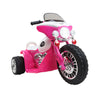 Ayaz Kids Police Ride On Motorbike - Pink