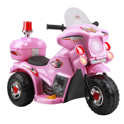 CASS Kids Ride On Motorbike - Pink