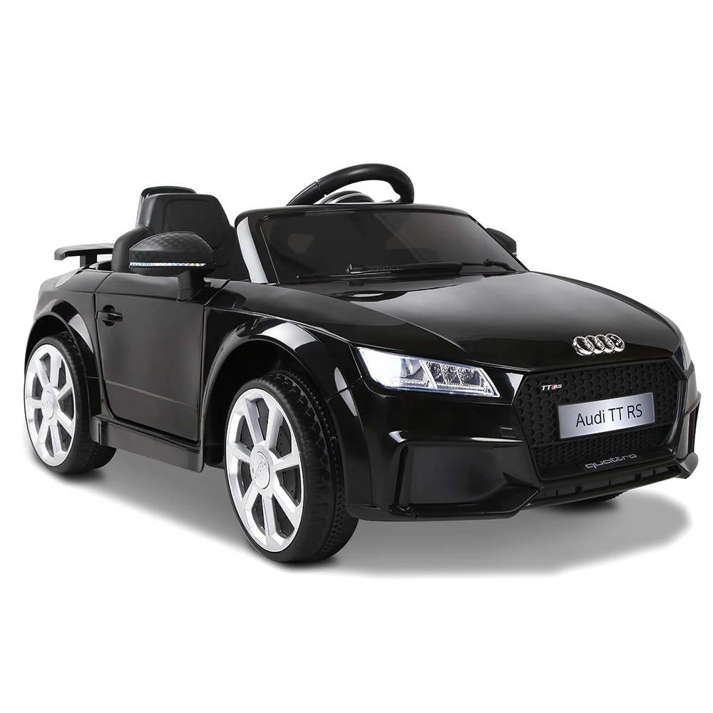 Audi TT RS Kids Ride On Car - Black