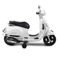 Vespa Kids Licensed Motorcycle ride on - White