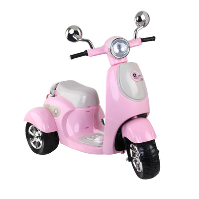 Ayaz Kids Ride On Motorbike Motorcycle Car Toys Pink