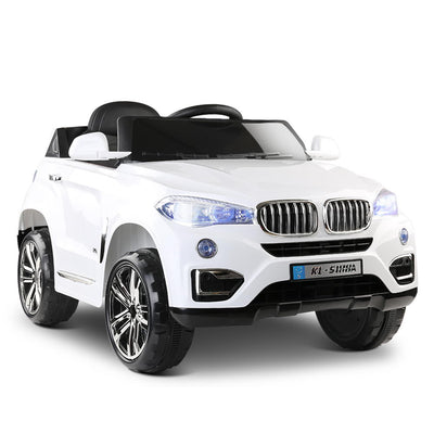 BMW X5 Style Kids Ride On Car - White