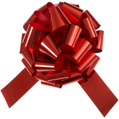 Giant gift bow - Red