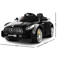 Mercedes AMG GTR Kids Ride On Car - Black