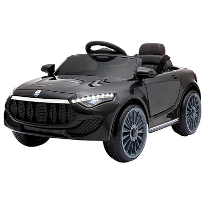 Cass Maserati Style Kids Ride On Car - Black