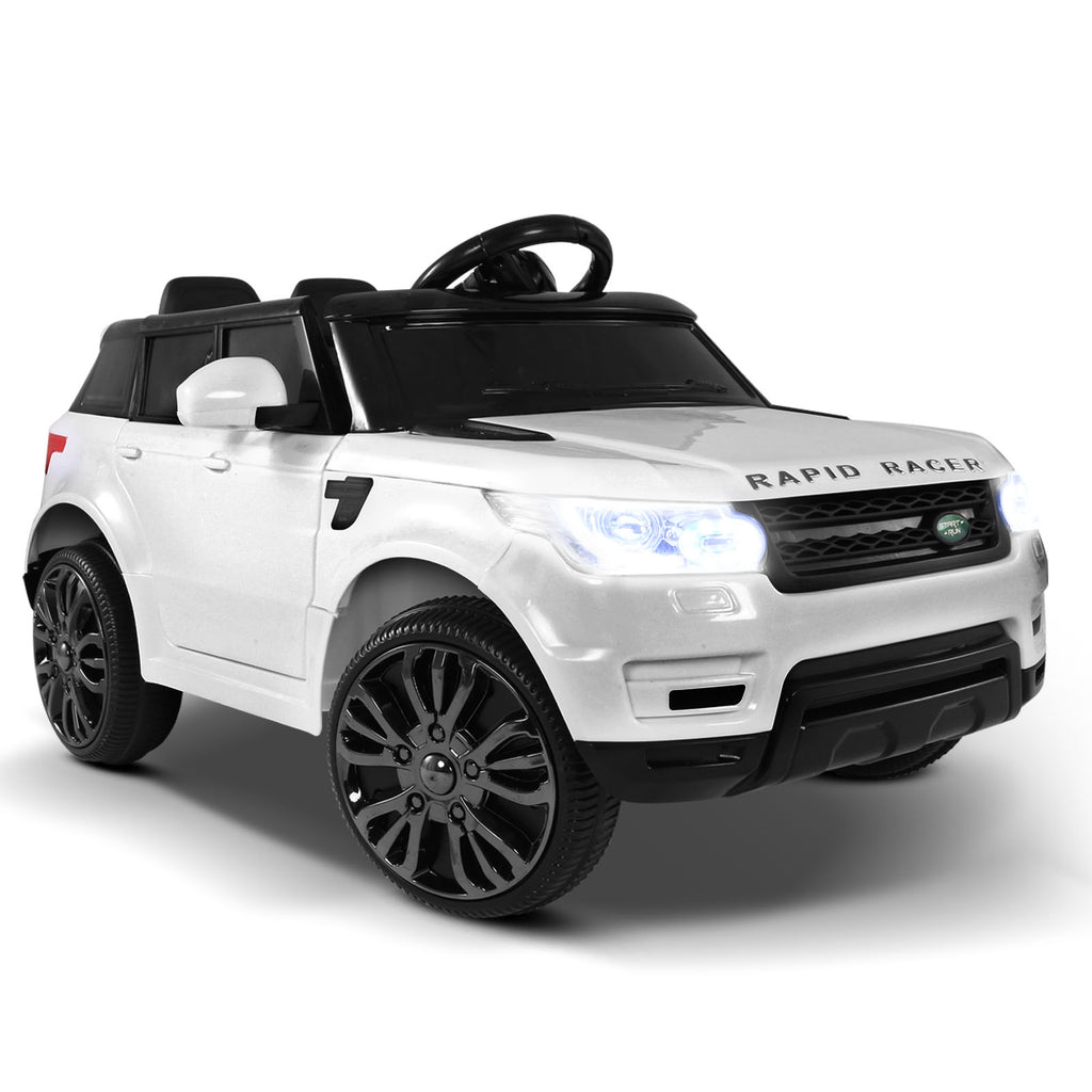 CASS Kids Range Rover style Ride On Car - White