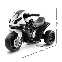 BMW Licensed S1000RR Kids ride on Motorcycle - Black
