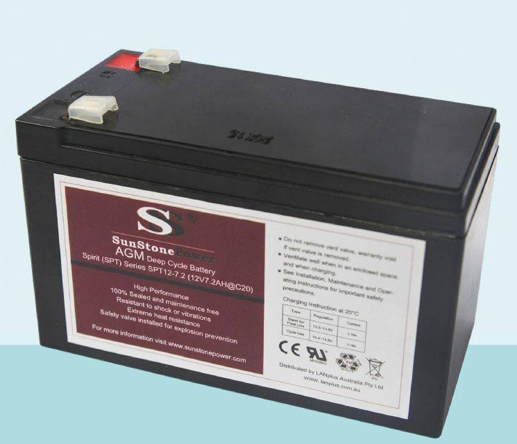 12V 7.2Ah SLA Battery 12 Volt > 7ah Sealed Lead Acid Rechargeable AGM