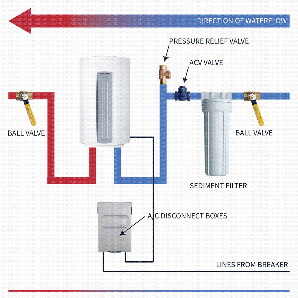 water heater wiring diagram with Installation Diagram For Stiebel Eltron Dhc 8 2 And 10 2 on Generatoralternator Ac Voltage Booster furthermore Watch furthermore 240 Volt Light Wiring Diagram further Wiring Diagram For Adding A Subpanel likewise Hair Dryer Machine.