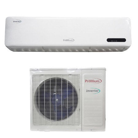 Mini Splits - Premium 12000 BTU Mini Split Air Conditioner A/C Inverter HEAT / COOL