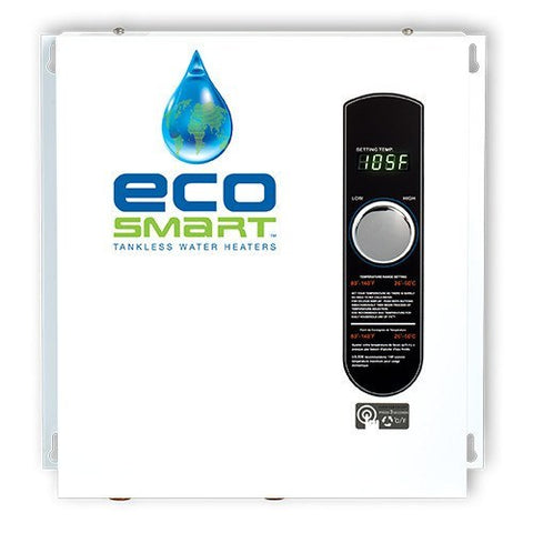 Tankless Water Heaters - EcoSmart ECO-24 Electric Tankless Water Heater 24KW 2 To 3 Bath