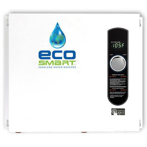 Tankless Water Heaters - EcoSmart ECO-36 Electric Tankless Water Heater 36kW 4 Bath