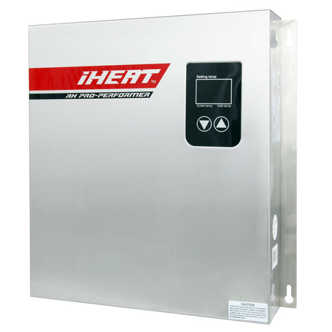tankless water heaters iheat ah27 pro performer whole house tankless water heater 27kw