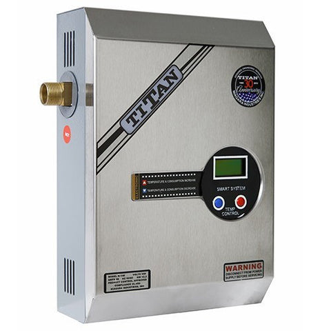 titan n140 electric tankless water heater 14kw new 2015 – tank the tank